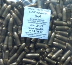 Amunicja 9×19 B-N -Dostępna